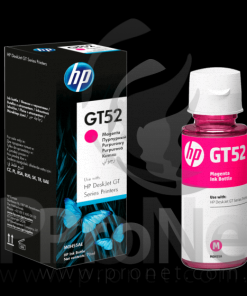 Botella de Tinta Original HP GT52M Magenta