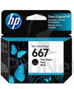 HP Ink Advantage 667 Negro