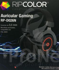 Auricular vincha gaming con micrófono D206N
