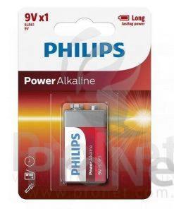 Batería 9V Philips Alcalina