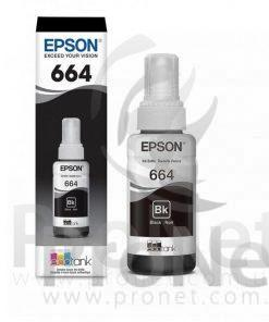 Botella De Tinta Para Epson T664 Negro