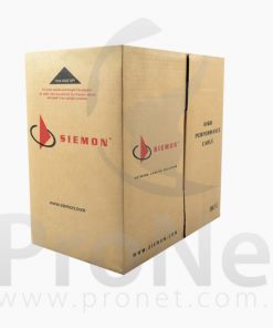 Cable Siemon categoría 6 LSZH baja emisión de humo