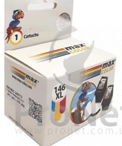 Cartucho de tinta compatible Canon 146XL