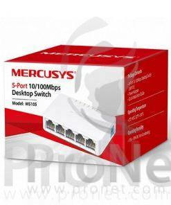 Mercusys switch 5 puertos 10/100Mbps