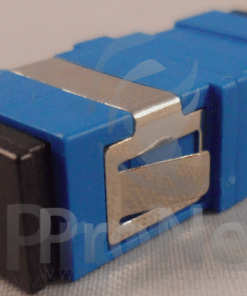 Cupla fibra optica SC