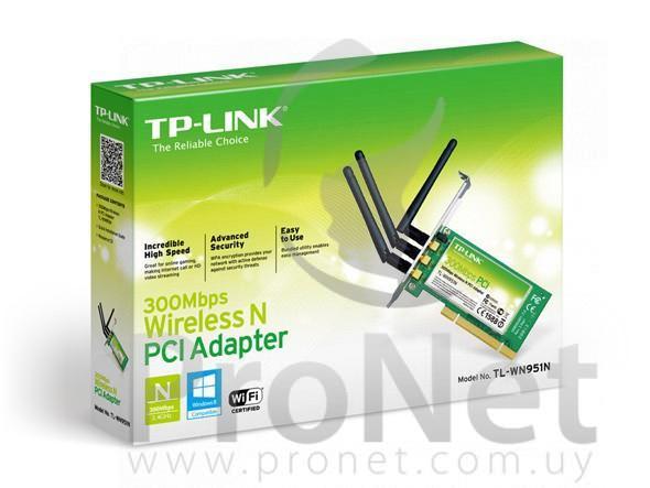 Adaptador Inalámbrico PCI 300Mbps TL-WN951N