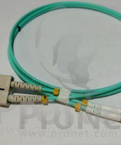 Patch cord firbra optica LC-SC OM3 duplex