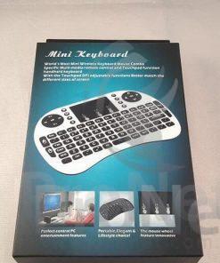 Mini teclado inalámbrico con touchpad