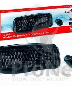 Combo teclado y mouse inalámbricos