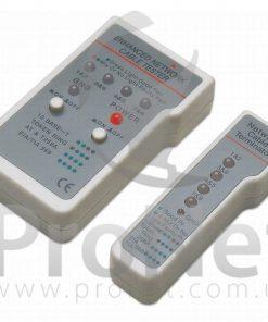 Tester para redes RJ-11/RJ-45